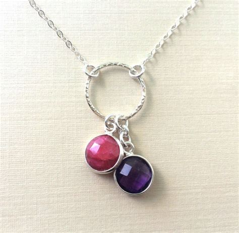 necklace mothers day birthstone necklace birthstone
