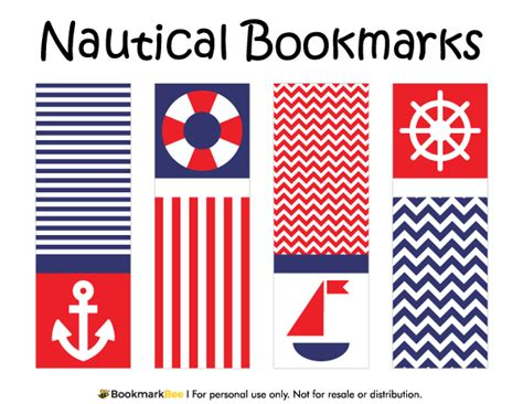 free nautical printable letters printable nautical bookmarks