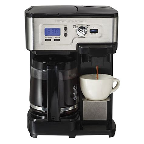 Hamilton Beach 49983 2 Way FlexBrew Coffemaker Review   Coffee Drinker