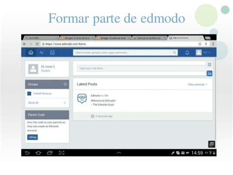 tutorial edmodo slideshare tutorial edmodo