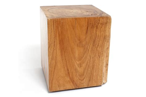 square woodworking wood stool square contemporary industrial mid