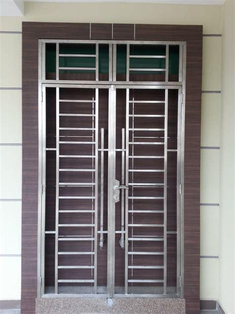 Main Door Grill Design Sample Customize Safety Door Design