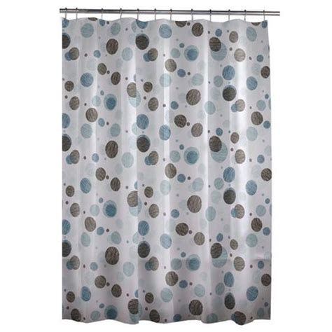circles shower curtain textured circles peva shower curtain walmart ca