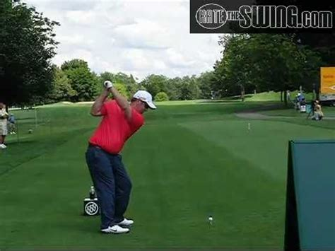 slow motion golf swing down the line david duval driver golf swing slow motion down the line