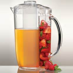 Iced fruit infusion natural flavor pitcher