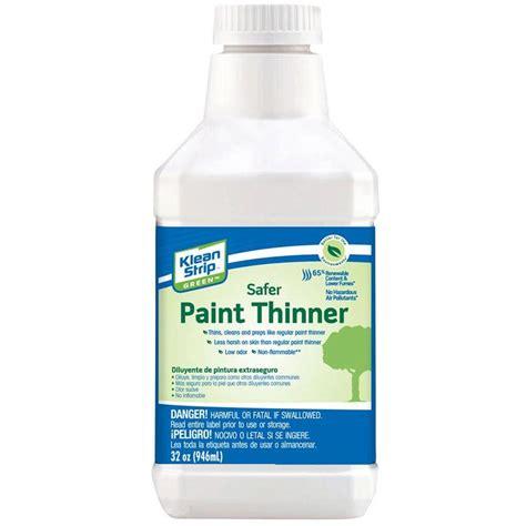 home depot paint thinner klean 1 qt green safer paint thinner qkkp75010