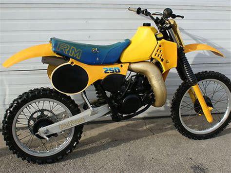 Suzuki Rm250 Parts 1983 Suzuki Rm250 Il
