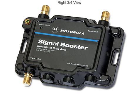 motorola 484095 001 00 signal booster cable 15db broadband drop lifier at tigerdirect
