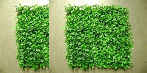 artificial  outdoor uv boxwood mat wall patio hedge