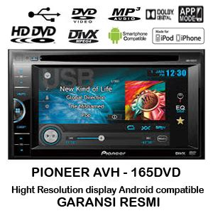Tv Mobil Single Din pioneer avh 165dvd unit tv mobil 2 din android pioneer