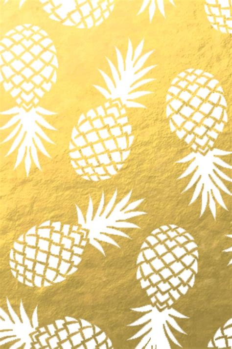 wallpaper gold print 10 ideas to declutter your home pineapple wallpaper