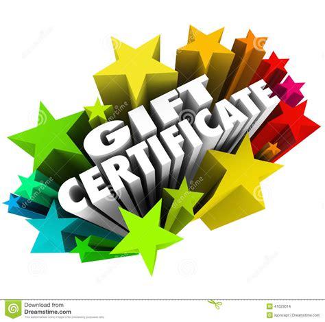 Star Gift Card Exchange - gift certificate stars words fireworks shopping