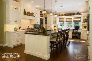 Walnut Kitchen Island custom distressed walnut kitchen island counter in roslyn new york