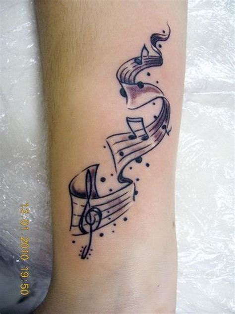 tattoo lyrics song 35 awesome music tattoos for creative juice