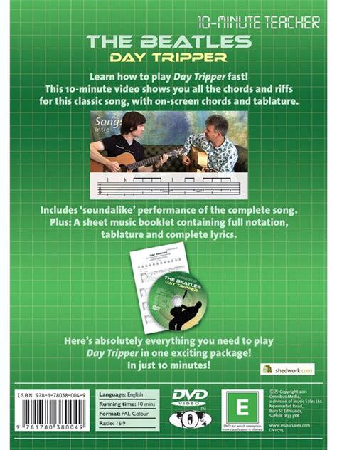 libro daytripper 10 minute teacher the beatles day tripper guitarra libros m 232 todos musicroom es