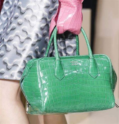 Prada Fall 2007 Bags by Prada Green Leathers Handbag