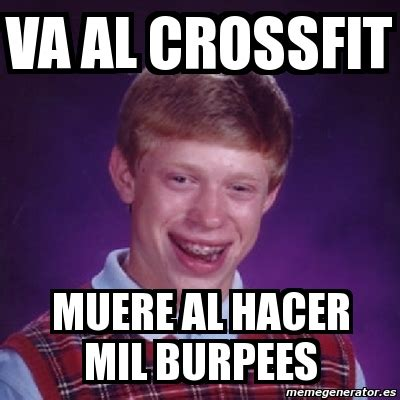 burpees meme memes de crossfit imagenes chistosas