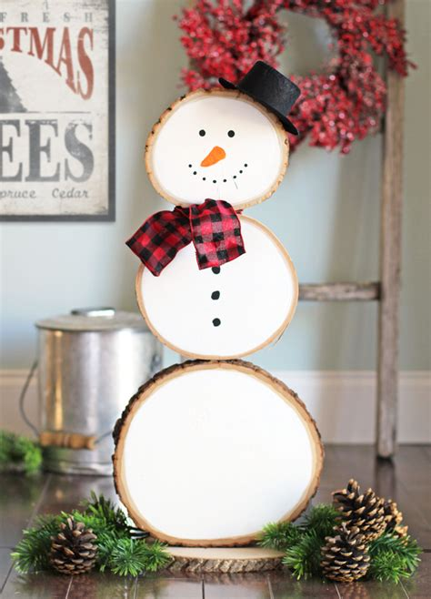 craft patch reversible fall  christmas wood slice