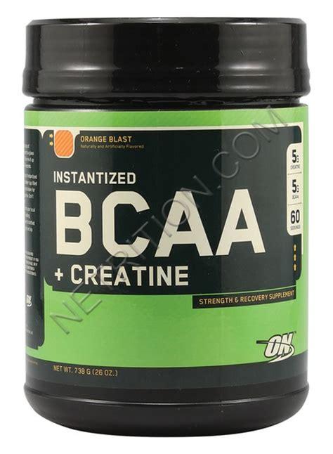 creatine or bcaa optimum nutrition bcaa creatine powder