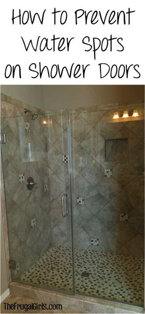 Water Spots On Shower Doors Water Spots Shower Doors And Showers On Pinterest