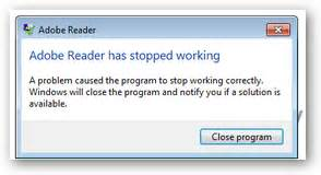 Mba Degree Caused Problems by Adobe Reader Xi Error A Problem Caused The Program