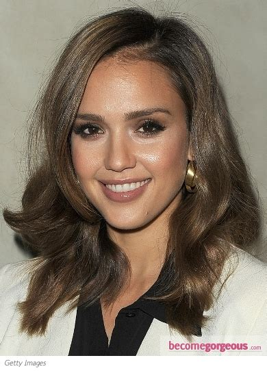 hairstyles etc louisville pictures jessica alba jessica alba shoulder length waves