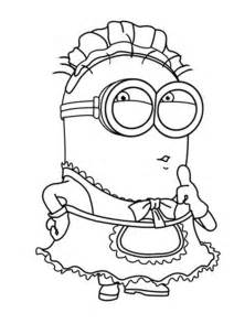 minion coloring sheet minion coloring pages free large images