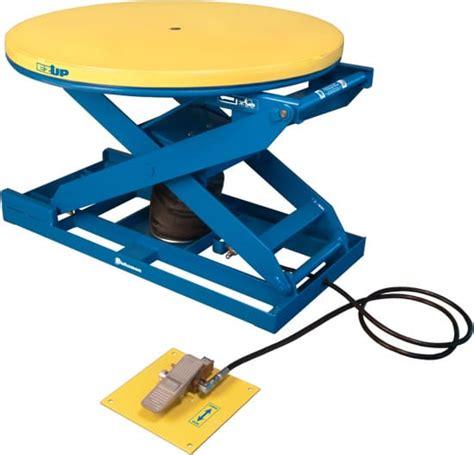air tables material handling pneumatic scissor lift materials handling