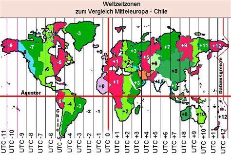 sommerzeit seit wann chile geograhie geografie gr 246 223 envergleich