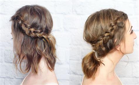 tutorial tata rambut kepang 3 cara menata rambut pendek untuk acara spesial beauty
