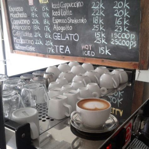 Foam Coffee And Laundry Koin menu foam coffee and coin laundry denpasar best restaurants cafe in bali guide bali