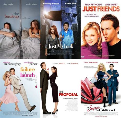 film comedy girl turns out there are only 5 types of romantic comedy movie