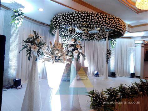 reception decoration le royal park pondicherry