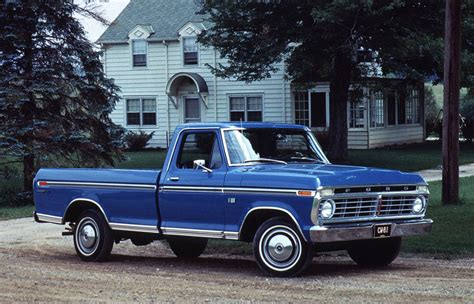 1973 Ford Truck by 1973 Ford F 100 Blue
