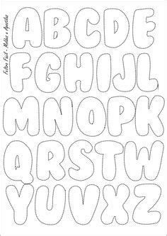 pattern for felt letters feltro f 225 cil molde do alfabeto felt letters template