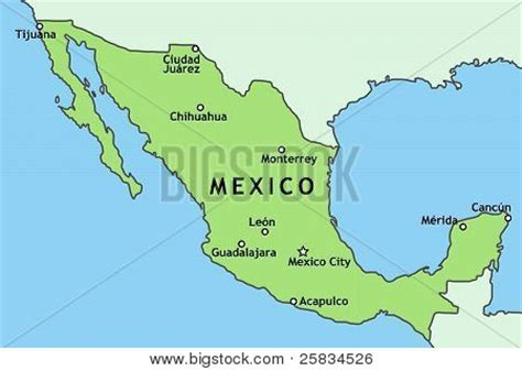 mexico major cities map map of major cities in mexico 28 images maxico city