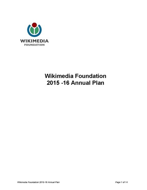 Wikimedia Foundation Annual Plan/2015-16 - Meta