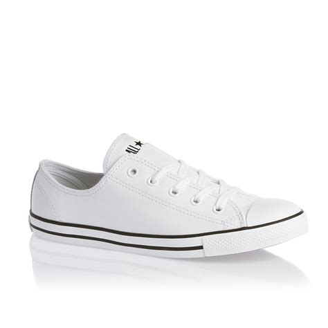 converse chuck all dainty ox shoes white