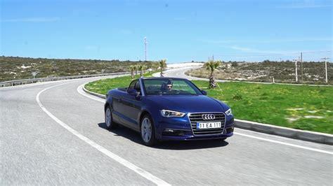 Audi A3 Cabrio Test by Audi A3 Cabrio 1 4 Tfsi Test S 252 R 252 ş 252 Cabrio Keyfi Youtube