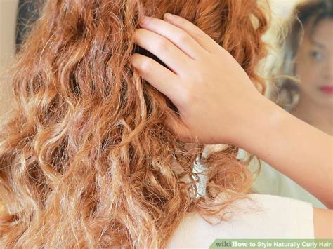 www step cut hairstyle that looks curly hair how to style naturally curly hair with pictures wikihow