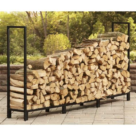 style selections         steel  cord firewood rack  lowescom