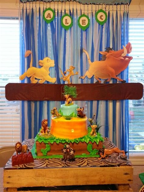 lion king themed birthday party ideas 27 best images about lion guard cake ideas on pinterest