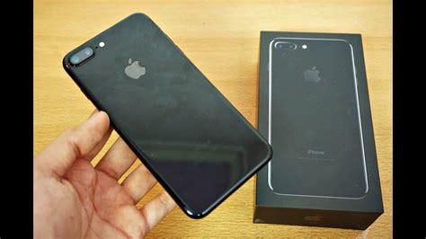 Iphone 7 Plus 256gb Jet Black Fullset Murah 89 the iphone 7 plus jet black apple iphone 7 128 gb jet black image is loading black bumper