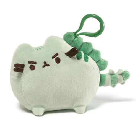 New Keychain Plush Pusheen Candycorn pusheen the cat pusheenosaurus clip on backpack plush