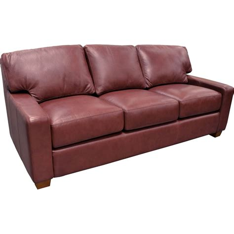 albany leather sofa albany sofa by omnia leather
