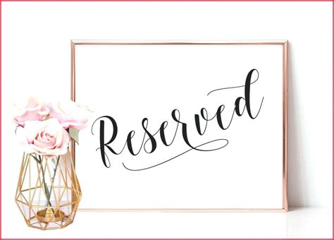 reserved seating signs template reserved signs template meetwithlisa info