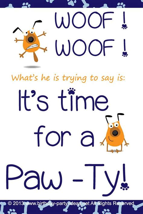 themed party quotes 222 best images about dog theme birthday party on