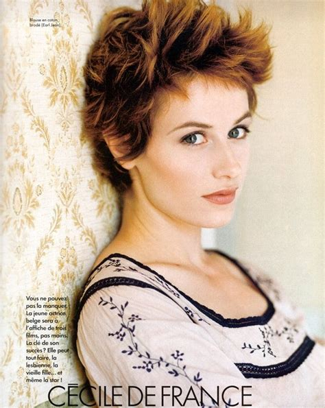 short haircuts from france 131 best images about cecile de france on pinterest