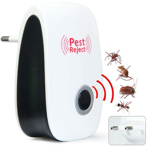 Anti Nyamuk Bug Scare Ultrasonic Rat Pest Repeller 1 electronic ultrasonic mice mouse repellent anti mosquito
