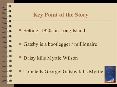 key themes of the great gatsby the great gatsby presentation